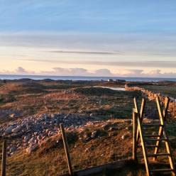 Morze Północne - kurhany wikingów