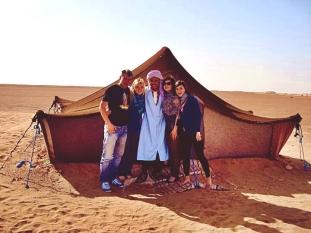 Przeżyliśmy noc na Saharze!