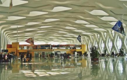 lotnisko w Marrakeszu