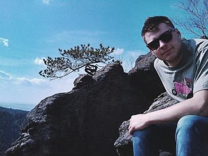 Młody ja - zapraszam w Góry Stołowe!