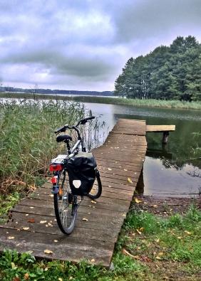 Jezioro Gawlik - ostatni piknik przed oddaniem roweru ;-(