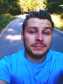 selfie z roweru