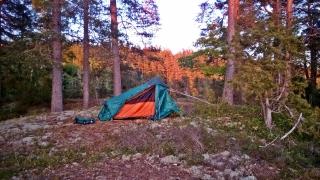 ...rozstawię namiot...