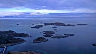 widok na Norwegię