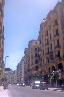 piękna ulica Talab Harb