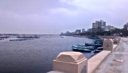 Nil widziany z bulwaru w Roseccie