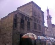 otomański dom obok meczetu