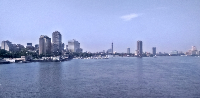 widok na Zamalek