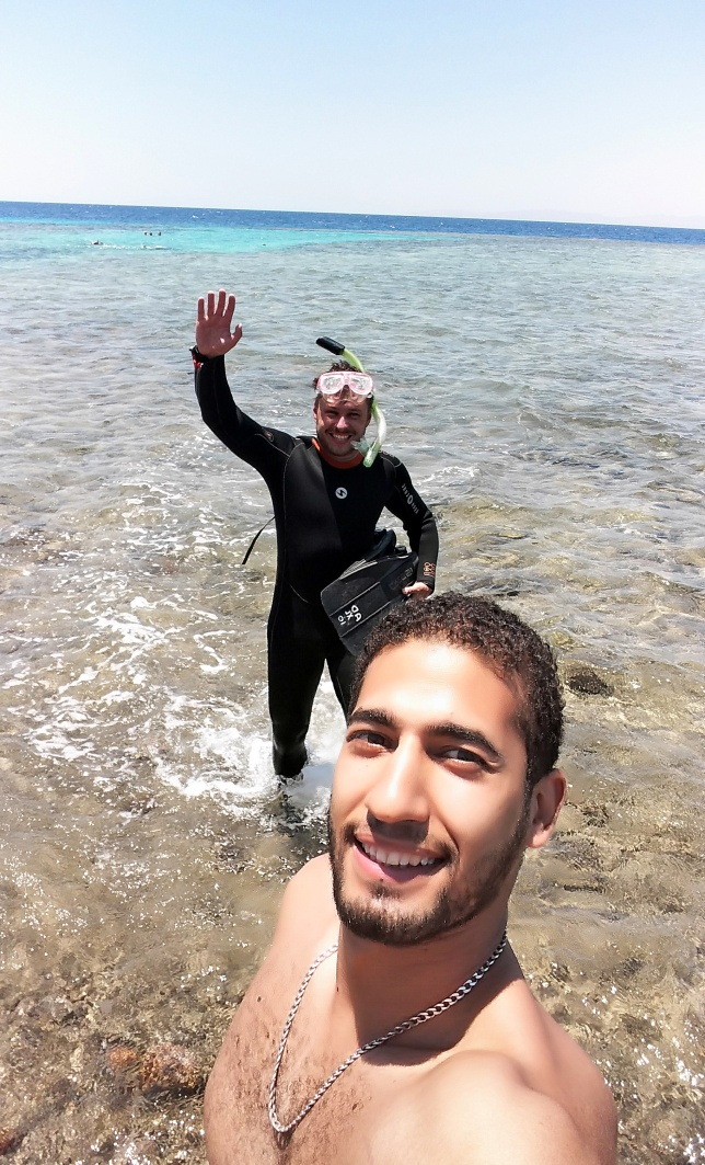 selfie z Karimem