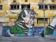 murale w dokach Jaffy