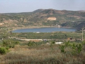 jezioro w kraterze