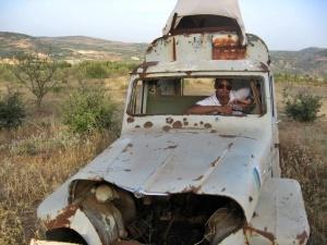 uruchamiamy wrak syryjskiego pojazdu