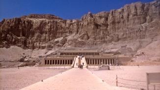 światynia królowej Hatszepsut