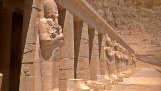 światynia królowej Hatszepsut i