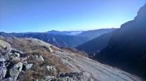Alpy Bergamskie wieczorem