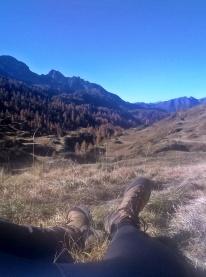 mitrężenie czasu w Alpach Bergamskich