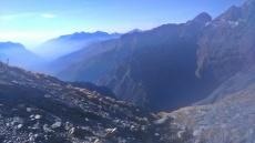mgliste góry - Alpy Bergamskie