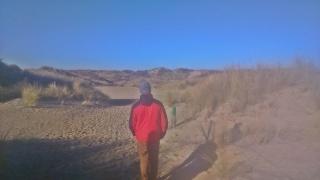 dzień drugi - wydmy De Panne