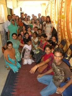 spotkanie w centrum wspierania kobiet