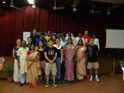 konferencja w Visha Yuwak Kendra