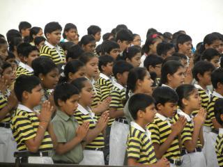 uczniowe Gujarat Public School