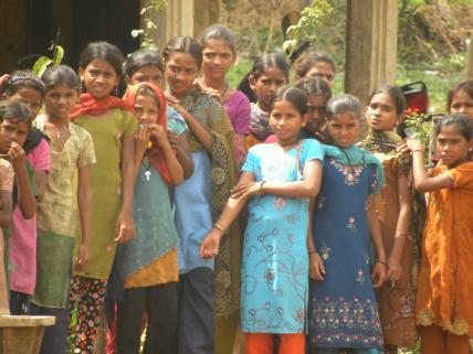 hinduskie dziewczynki