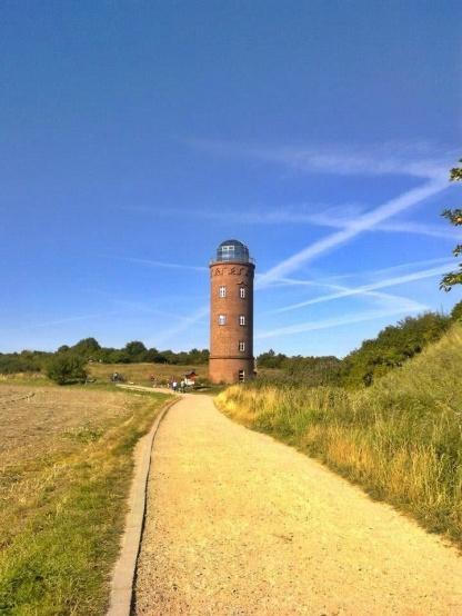 latarnia w okolicy Putgarten