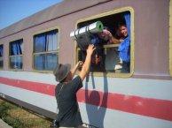 albańskie pociągi
