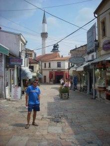 muzułmańska część Skopje