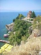 jezioro Ohrid - klasztor