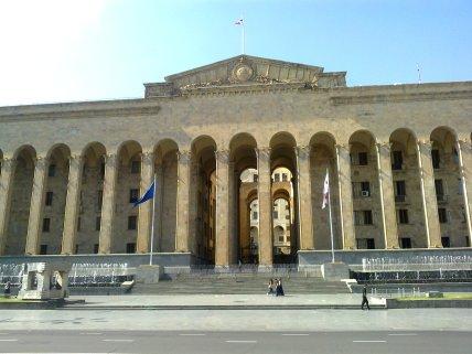 parlament gruźiński w Tbilisi