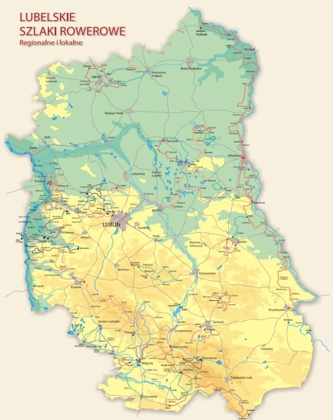 mapa lubelskie