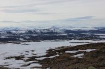 widok na pół Norwegii
