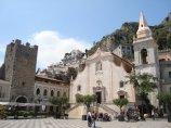 kościółek w Taorminie