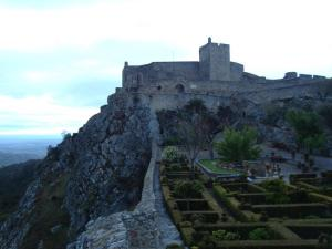 zamek na skale