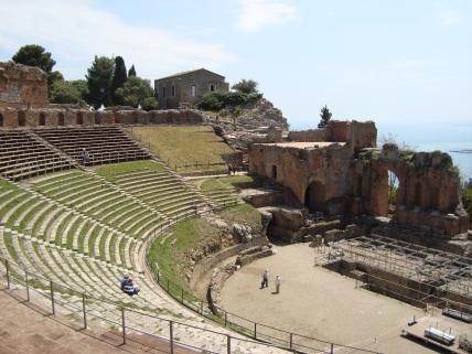 teatr grecki w Taorminie