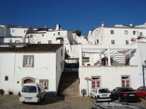 białe domki