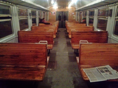 elektriczka linii Sambor - Sianki