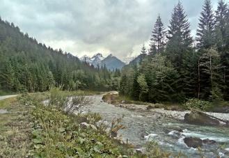 Dolina Białej Wody - początek szlaku