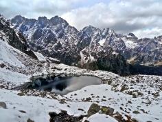 widok z przełęczy Prielom