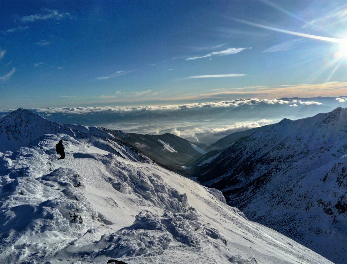 Widmo Brockenu, golden hour i ryś w Tatrach Zachodnich