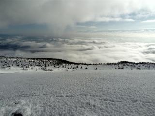 morze chmur - widok na Tatry