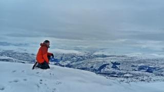 widok na piękne fiordy, Lanahorgi