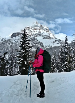 lekki trekking do schroniska Laveredo