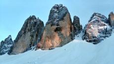 biwak pod Tre Cime, Dolomity