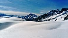 wielkie śniegi w Dolomitach