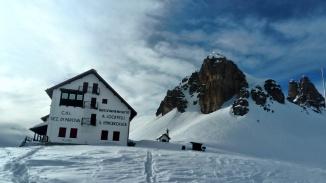 rifugio A. Locatelli, Dolomity