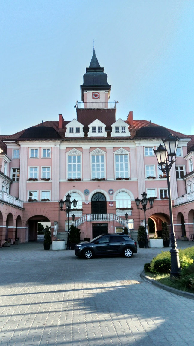 ratusz miasta Iława