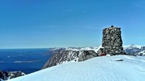 szczyt Lonketind, Senja, Norwegia
