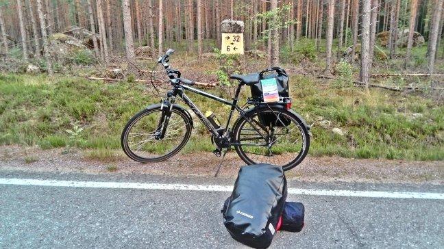 królewski szlak pocztowy, Finlandia, 6 km do Virijoki
